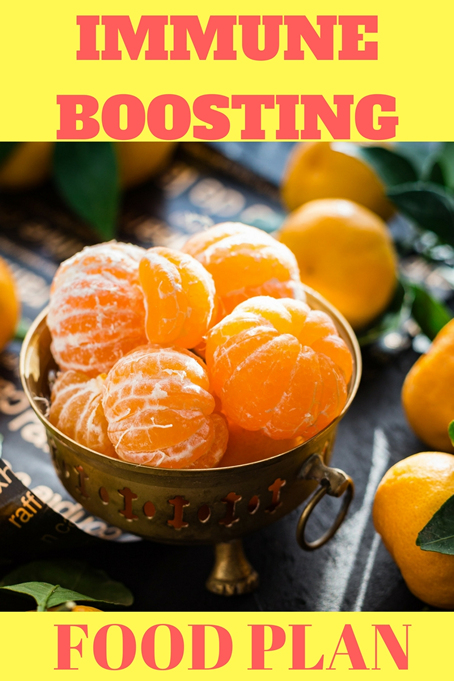 Immune Boosting Food Plan