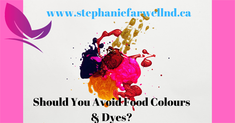 Should You Avoid Food Colours & Dyes?